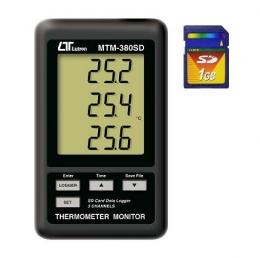 3 채널 온도기록계(SD Card) MTM-380SD