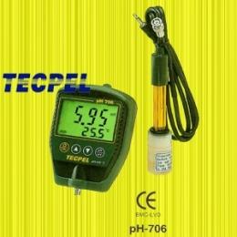 휴대용 PH 메타 (PH Meter) pH-706