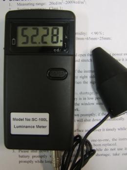 휘도계:SC-100L20cd/m2~2,000kcd/m2