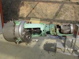 2중 자켓 교반탱크, 진공 반응기 400리터 고점도 가능