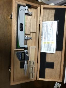 미쓰토요 디지털 내측캘리퍼(125-150mm)