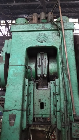 보르네츠 1600톤 단조프레스(다이렉트 드라이브타입)