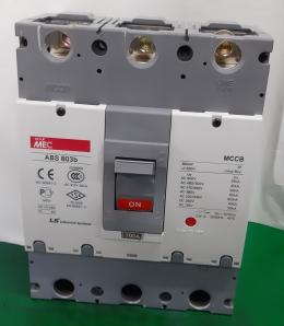 LS MCCB ABS803b 700A 3P 차단기