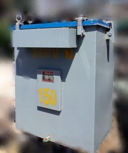150KVA 다운트랜스/변압기/도란스 440V->380V