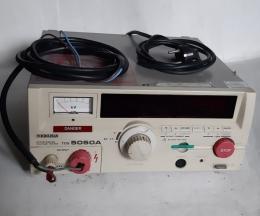 KIKUSUI TOS 5050A 내전압시험기 0~2.5KV
