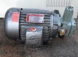 을지 3마력 유압펌프 3마력 4극 220~380V 2.2KW 4P