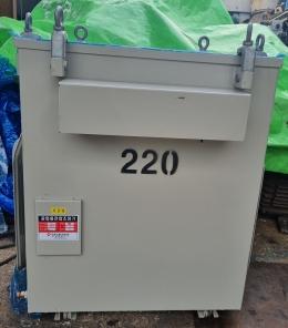 한일 50KVA 다운트랜스 복권형 380V-220V 공업용전압조정기 미사용품