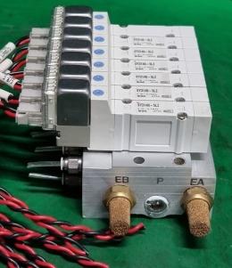 SMC SY3140-5LZ 솔레노이드밸브 세트