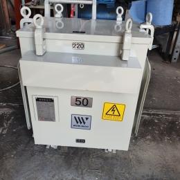 TR50kva 4400/220v 변압기, 오일타입
