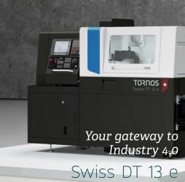 토르노스 DT13(임플란트), 13형 CNC자동선반복합기, 5축