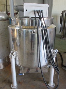 삼중쟈켓 전기히팅 교반탱크