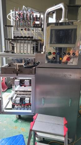 Soma 5열 액상 스틱포장기