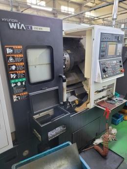 터닝센터 , CNC선반 , 위아E200MA
