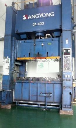 쌍용 H형 프레스 DA- 400톤 (1997년 5월)